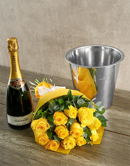 colour: Prongracz Spoils and Yellow Roses!