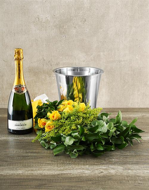 flowers: Yellow Rose Pongraz Delight!