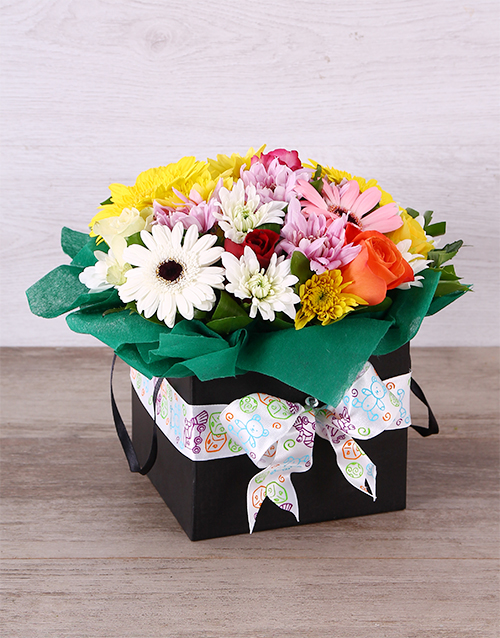 in-a-box: Gender Neutral Mixed Floral Box!