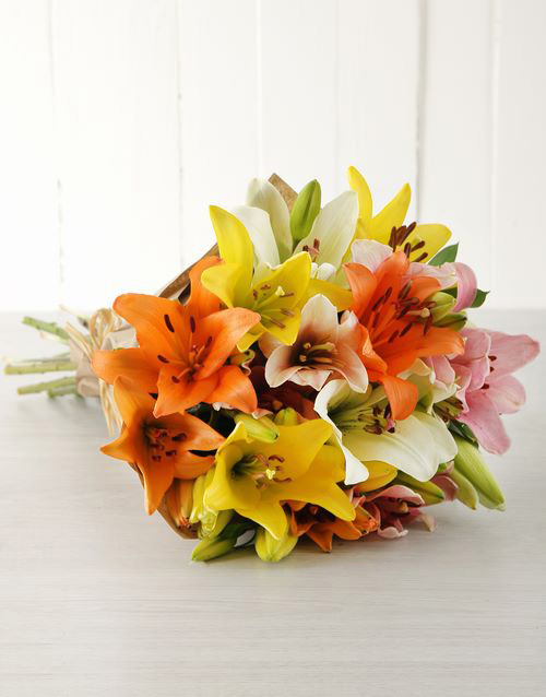 lilies: Lily Love Bouquet!