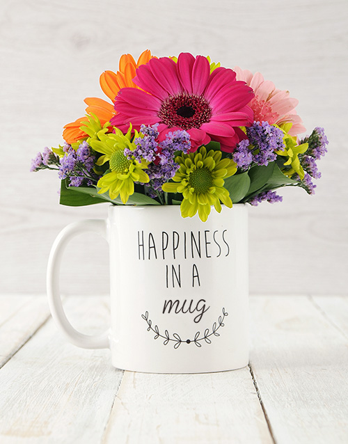 secretarys-day: Mixed Happiness in a Cup Arrangement!