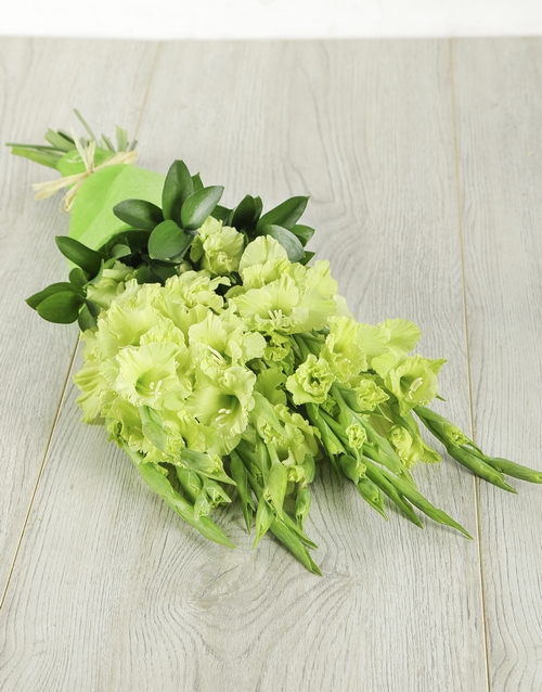 bouquets: Green Grace Gladiolus Bouquet!