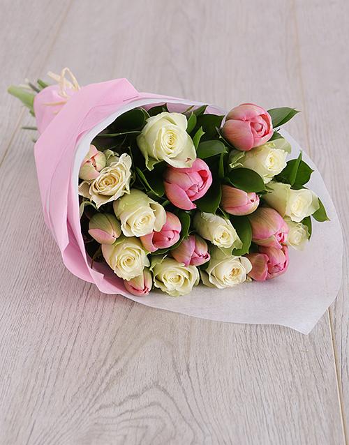 tulips: Delicate Tulips Bouquet!