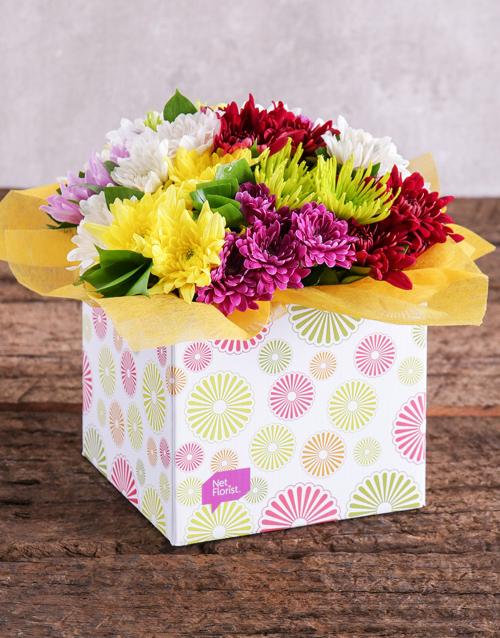 colour: Sprays in a Spring Box!