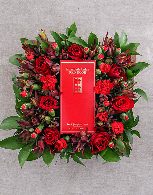 wooden-crates: Red Door Dearest Desire!