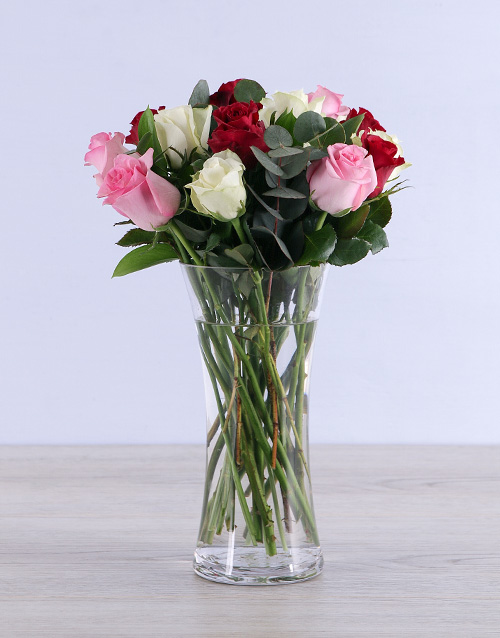 roses: Mixed Roses with Flair!