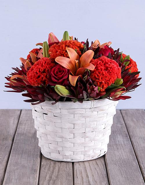 colour: Colour Me Orange Basket!