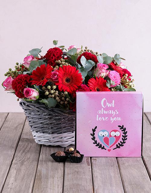 flowers: Owl Love Flower Combo!