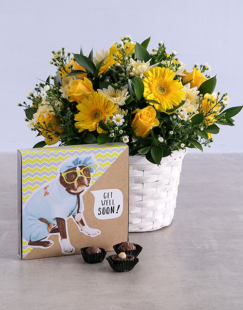 flowers: Get Well Flowers and Chocs!