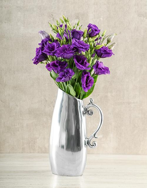 colour: Elegant Lisianthus Jug!