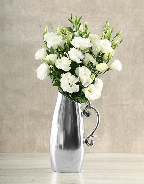 colour: White Lisianthus Jug!