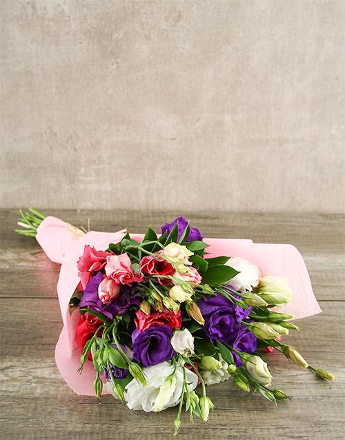 seasonal: Mixed Lisianthus Bouquet!