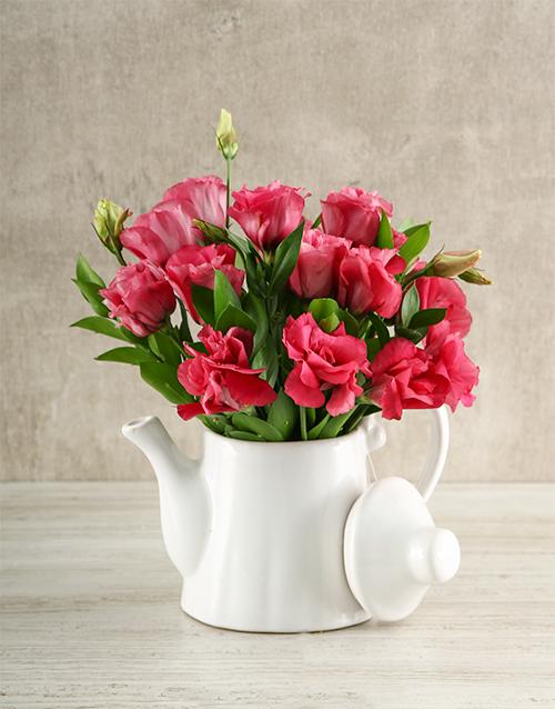 flowers: Tea Time Lisianthus Arrangement!