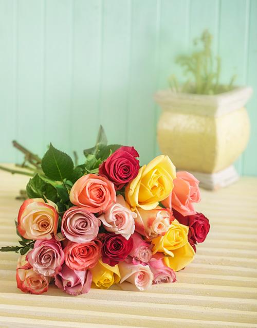 bouquets: Premium Mixed Rose Bouquet!