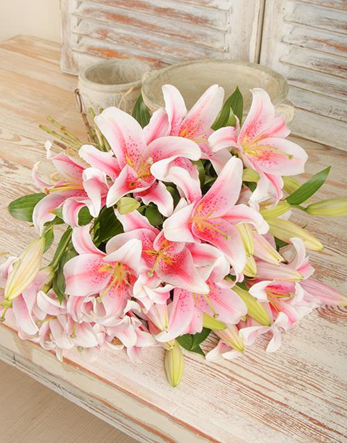 lilies: Stargazer Lily Bouquet!