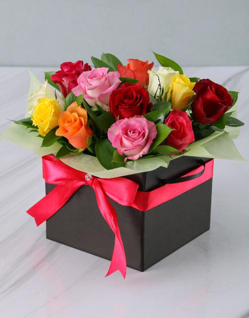 roses: Mixed Roses in Black Box!