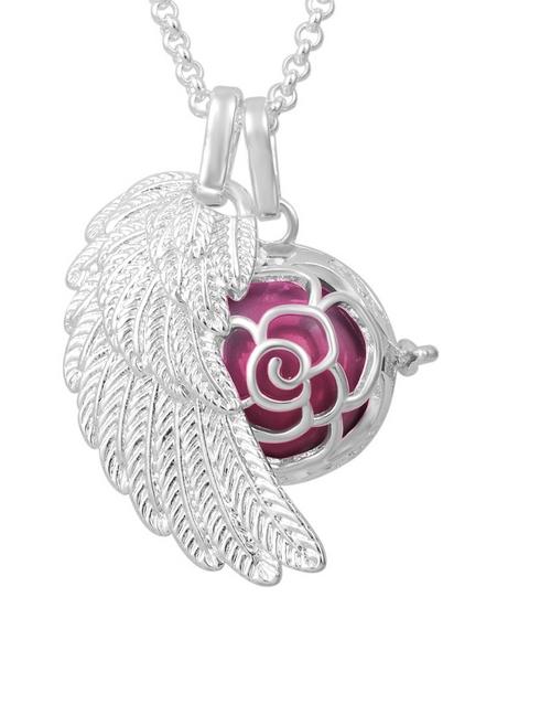 shiroko: Shiroko Harmony Bell Neon Pink Flower Necklace!