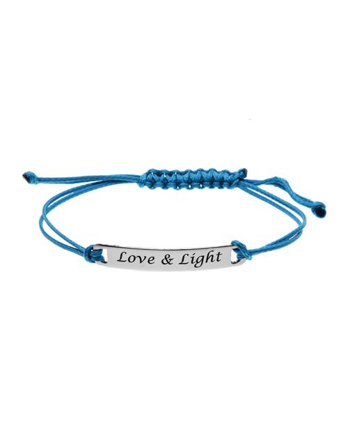 sale: Sale Item Sterling Silver ID Cord Bracelet!