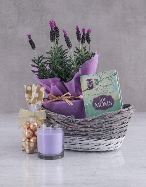 colour: Lavender Gift Basket!