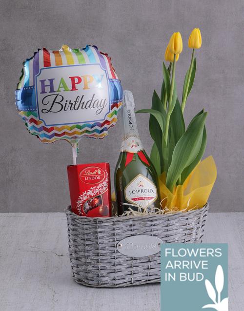 colour: Happy Birthday Tulip Treat!