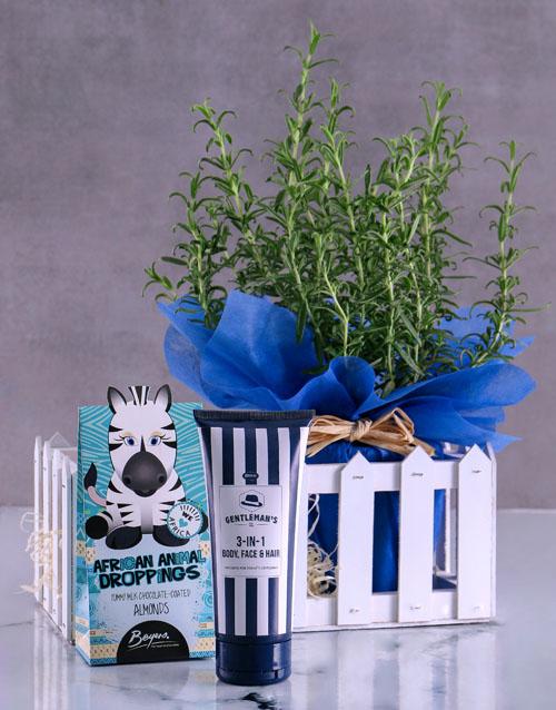 bosses-day: Blue Rosemary Gift Set!