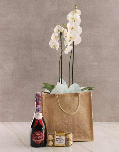 engagement: Totes Amazing Orchid Gratitude Hamper!