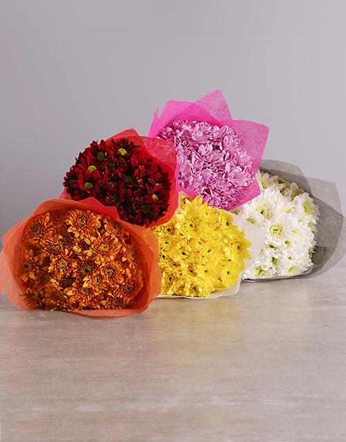 prices: Rainbow of Colours Sprays Bouquet!
