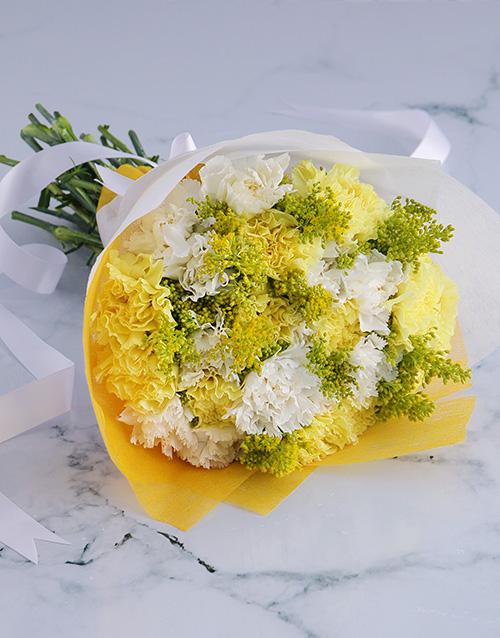 colour: Sun White Floral Bouquet!
