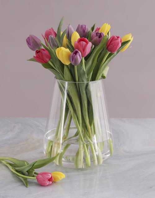 easter: Tulip Variety Arrangement!