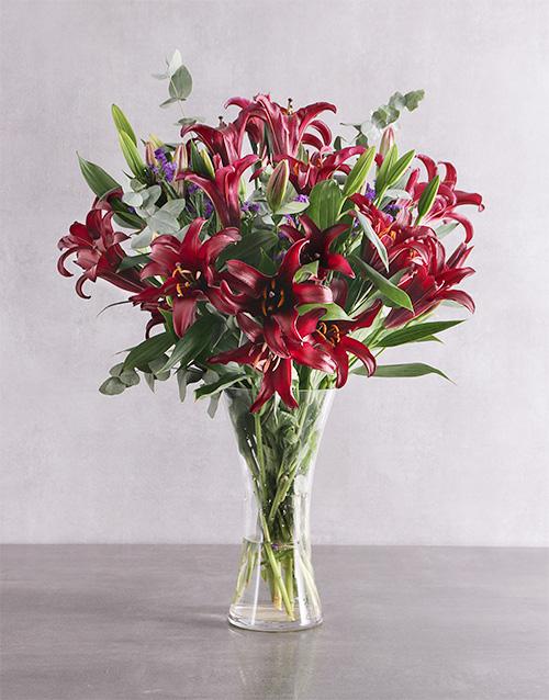 congratulations: Garden Rich Lily Blossoms!