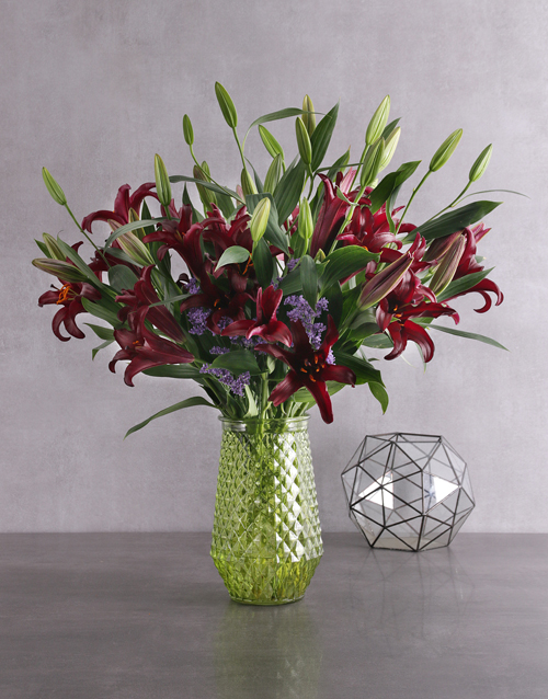 colour: Garden Variety Lily Blossoms!