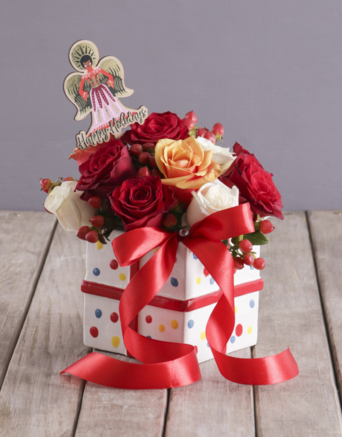 colour: Angel Mixed Rose Box!