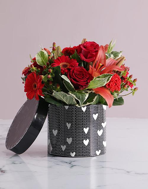 anniversary: Fiery Florals Hat Box!
