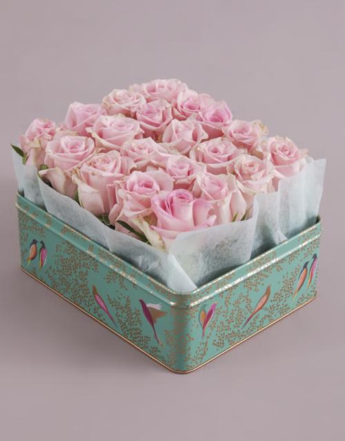 anniversary: Dusty Pink Rose Arrangement!