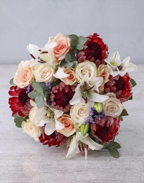 easter: Moonlight Protea Blooms!