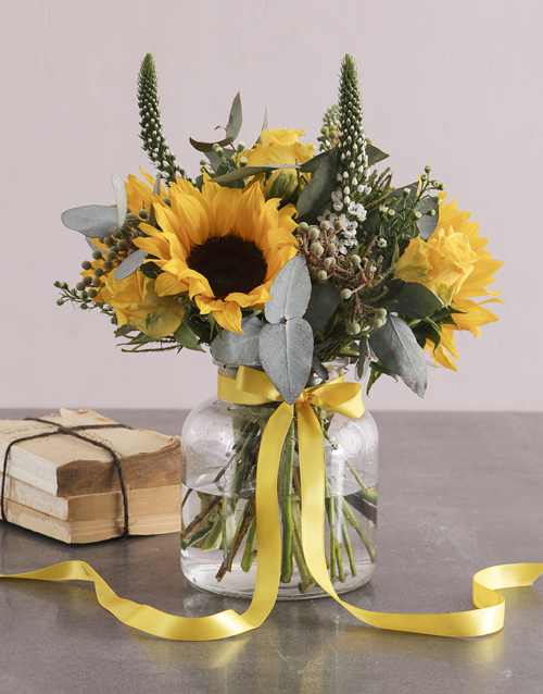 heritage-day: Sweet and Sophisticated Sunflowers!