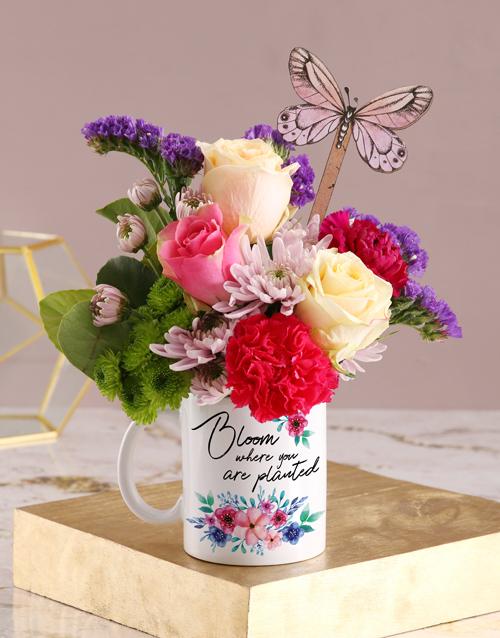 spring-day: Blooming Floral Mug!