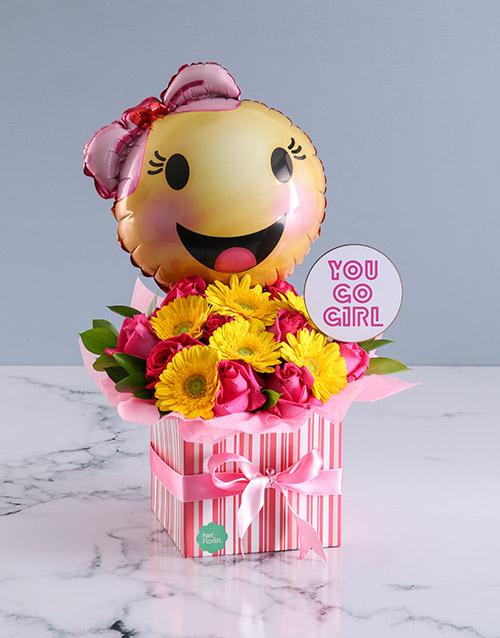 secretarys-day: Go Girl Flower Arrangement!