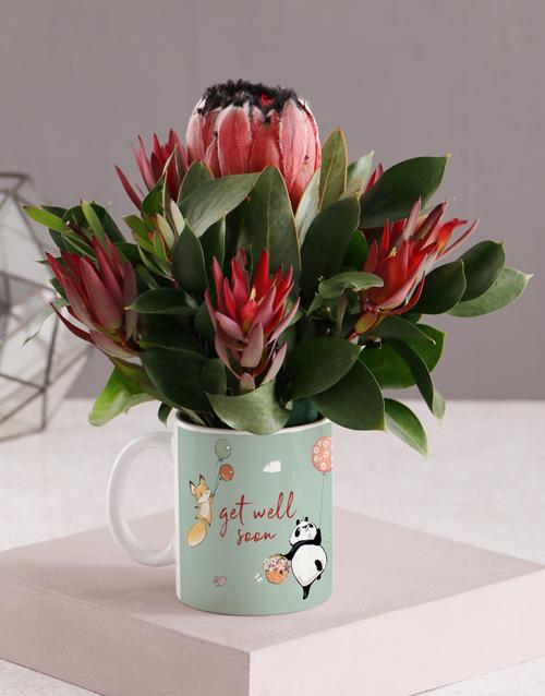 mugs: Get Well Soon Floral Mug!