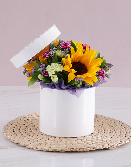 sunflowers: Sunflower Get Well Box!