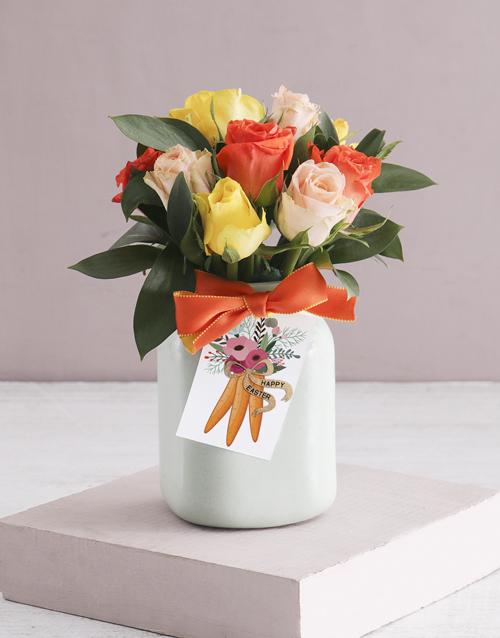 roses: Lush Mixed Rose Variety!