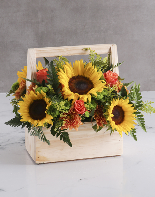 heritage-day: Bloom Sunflower Crate!