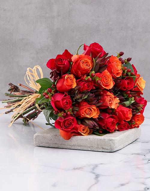 roses: Majestic Cherry Brandy Roses!