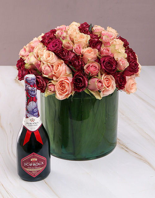 roses: Blushing Roses with JC Le Roux!