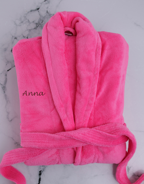 grandparents-day: Personalised Pink Gown!