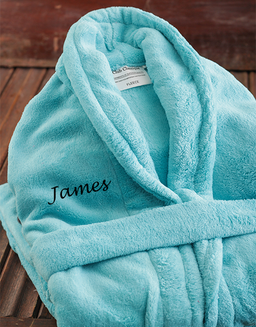 bath-and-body: Personalised Blue Gown!