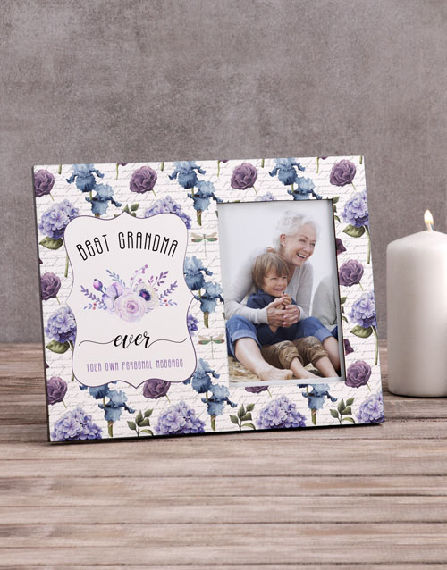 home-decor: Personalised Best Grandma Photo Frame!