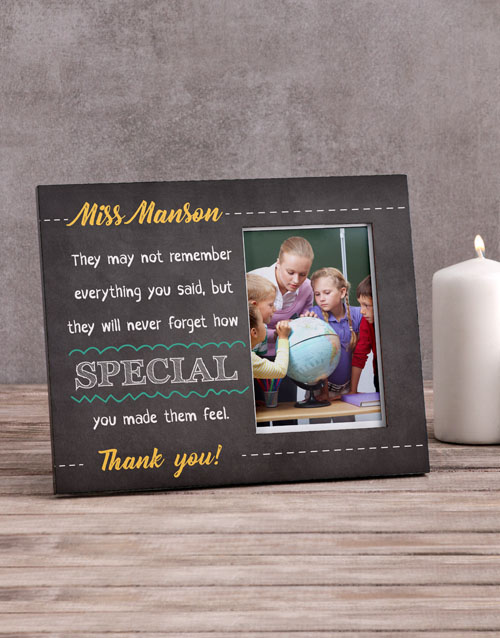 home-decor: Personalised Never Ever Forget Photo Frame!