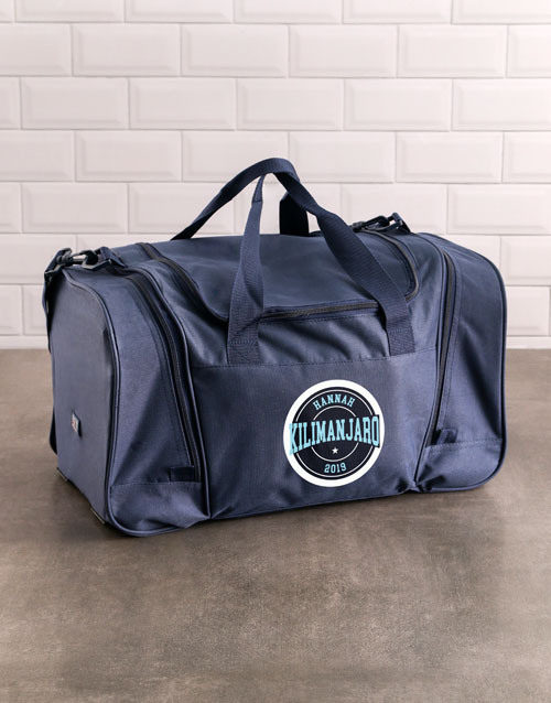 activewear: Personalised Kickboxer Stamp Gym Bag!