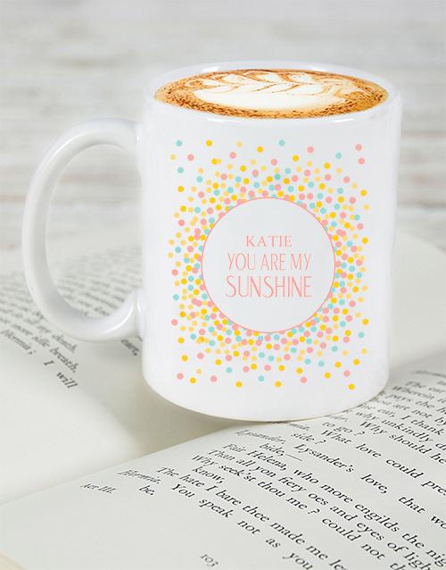 homeware: Personalised My Sunshine Mug!